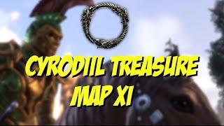 [ESO] Elder Scrolls Online: Cyrodiil Treasure Map XI Location