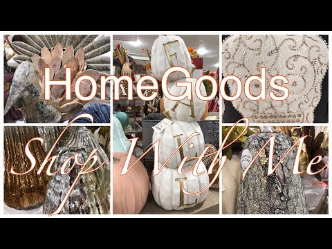 HOMEGOODS~FALL DECOR! THERE'S STILL A TON LEFT!
