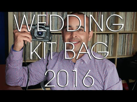 What's In My Wedding Photography Kit Bag for 2016