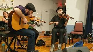 BIDA Contra Dance October 1, 2017 - Angela DeCarlis with David Kaynor and Tim Ball