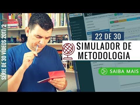 SIMULADOR DE METODOLOGIA PARA TCC - METODOLOGIA PASSO A PASSO