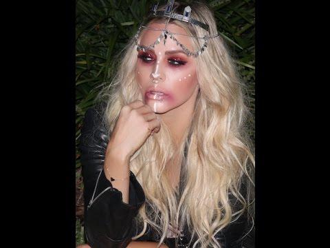 Halloween Makeup Tutorial  Gypsy  Princess  - YouTube