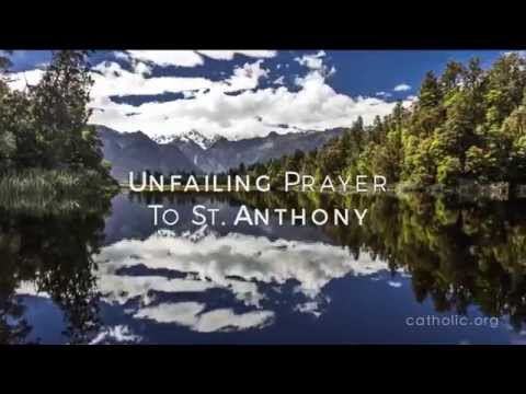 Unfailing Prayer to St. Anthony HD
