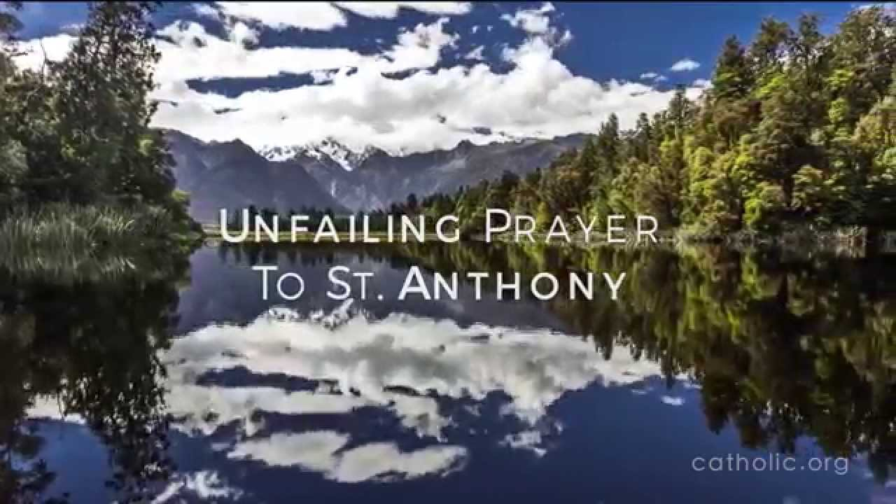 St Anthony Prayer - Recovering What's Lost - Catholic Prayer