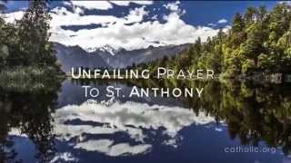 Image of Unfailing Prayer to St. Anthony HD video