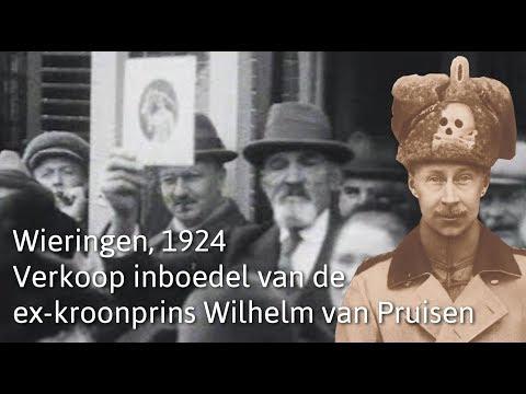 Verkoop inboedel van de ex-kroonprins Wilhelm van Pruisen