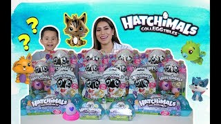 OPENING 60 HATCHIMALS CollEGGtibles,search for the golden hatchimal, limited edition found,GIVEAWAY