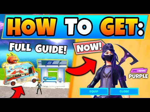 Fortnite FOOD TRUCKS & REMEDY VS TOXIN CHALLENGES GUIDE! - Overtime Purple Style In Battle Royale!