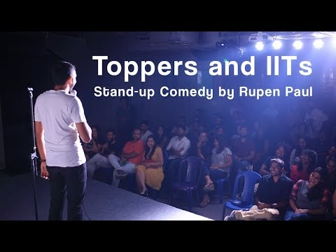 Toppers and IITs | Stand-up Comedy by Rupen Paul
