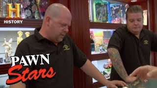 Pawn Stars - Top Secret | History
