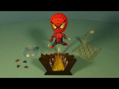 THE AMAZING SPIDER-MAN NENDROID SERIES HERO'S EDITION ACTION FIGURE TOY REVIEW