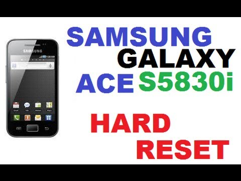 how to hard reset wipe data factory settings restore manual reset on rh youtube com samsung galaxy ace gt-s5830i user manual pdf samsung galaxy ace gt-s5830i user manual pdf