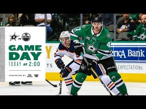 NHL 18 PS4. REGULAR SEASON 2017-2018: Edmonton OILERS VS Dallas STARS. 01.06.2018. (NBCSN) !