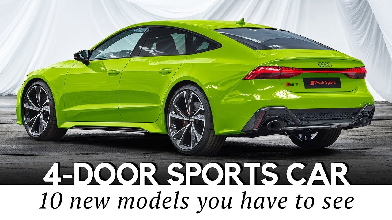 Four Door Sports Cars >> 10 New Sports Cars With 4 Door Practicality And Class Leading Specifications In 2020