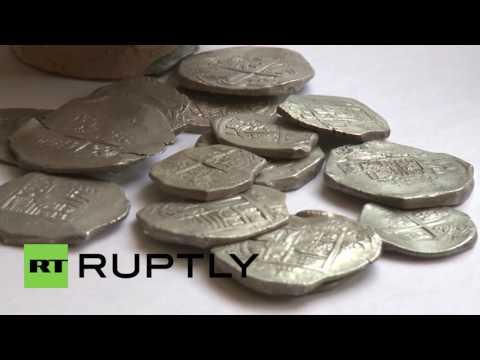 Russia: Kerch Bridge workers discover lost 17th century Spanish treasure