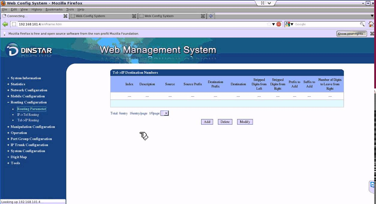 DINSTAR Device Configuration for VoIP - YouTube