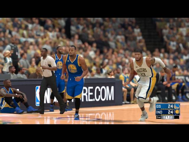 Nba 2k17 Pacers Vs Warriors Gtx 970