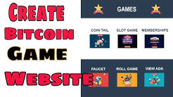 How Create Crypto Games Bitcoin Gambling Website and Earn Money Online