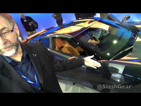 2014 Corvette Stingray exterior walkthrough with Kirk Bennion
