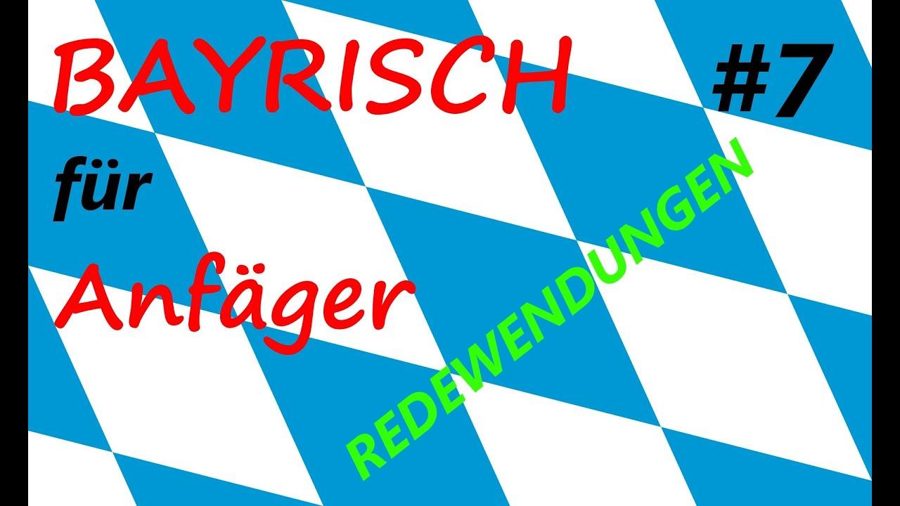 bayrisch redewendungen bayrisch f r anf nger 8 youtube