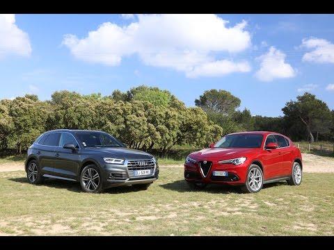 Comparatif - Alfa Romeo Stelvio vs Audi Q5 : domination en question