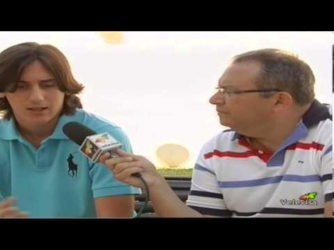 RUBEN SANTIAGO EN POLIDEPORTIVO VELEVISA TELEVISION