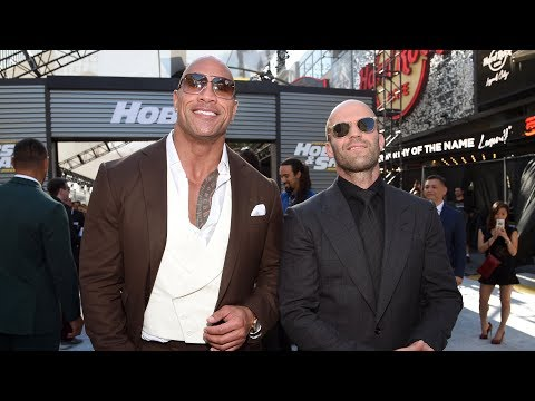 Fast & Furious Presents: Hobbs & Shaw - World Premiere in Lo
