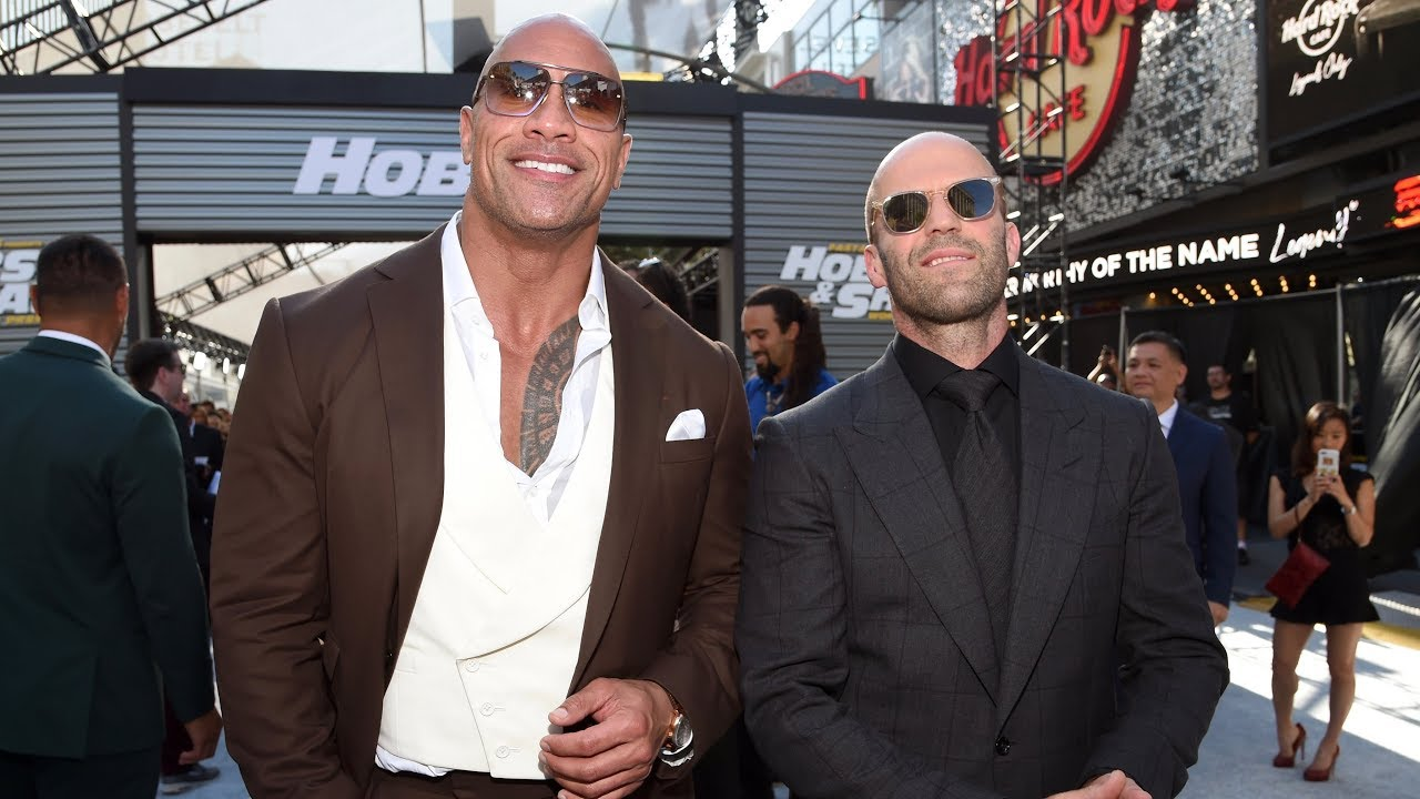Download Fast & Furious Presents: Hobbs & Shaw - World Premiere in Los Angeles