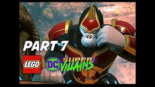 LEGO DC Super Villains Walkthrough Gameplay Part 7 - Gorilla Grodd (Let's Play Commentary)