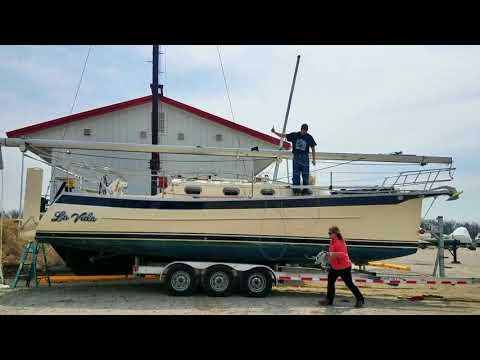 2018 Season Seaward 32RK Mast Raising
