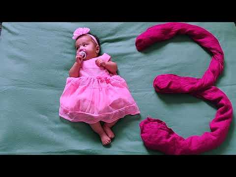 Easy baby monthly photoshoot tips- #3 Types of baby photography ideas at home