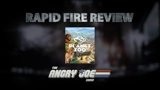 Planet Zoo Rapid Fire Review (Video Game Video Review)