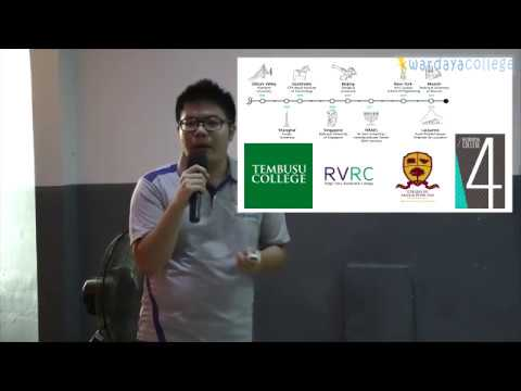 Kuliah di NUS (National University of Singapore) Seminar Edukasi oleh Felix Utama