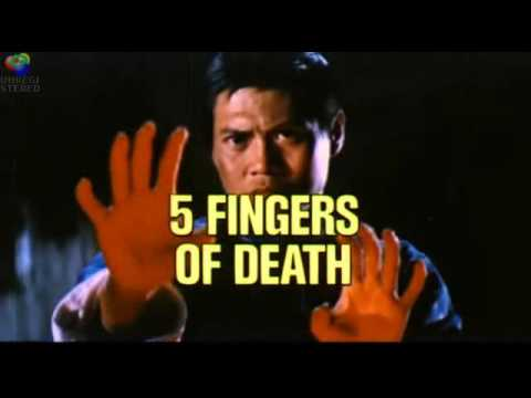 5 FIVE FINGERS OF DEATH 1972 Shaw Brothers kung fu martial arts movie trailer   King Boxer Lo Lieh