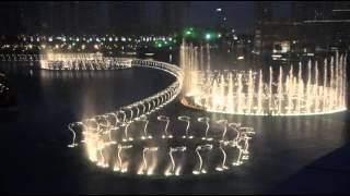 Поющий фонтан в эмирате Дубай - The Dubai Fountain(Танцующий фонтан в эмирате Дубай., 2015-04-27T10:06:15.000Z)