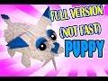 3D MODULAR ORIGAMI #66 PUPPY FULL VERSION (NOT FAST)