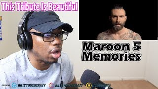 Maroon 5 - Memories REACTION! THIS SONG MADE BYSE ENTER THE CHAT