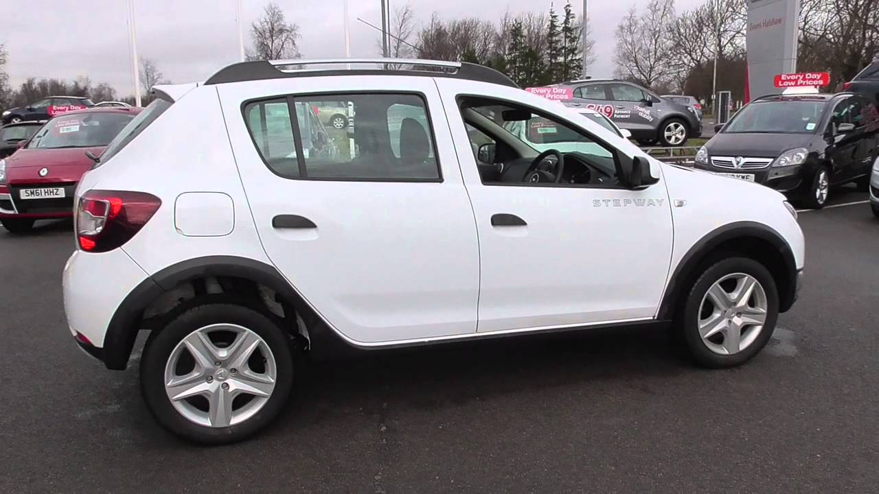 dacia sandero stepway 0 9 tce ambiance 5dr u31100 youtube. Black Bedroom Furniture Sets. Home Design Ideas