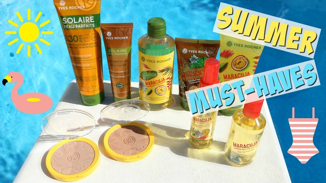 Yves Rocher Summer Beauty Must-Haves + Giveaway!