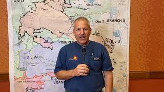Nov 9th - Live Weather Update From Incident Meteorologist Steve Ippoliti For The Cameron Peak Fire
