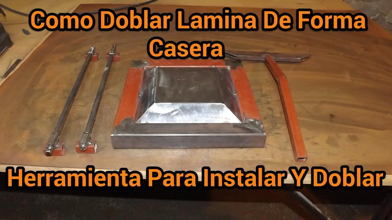 Como doblar lamina facil y de forma casera instalacion y - Laminas para pared ...