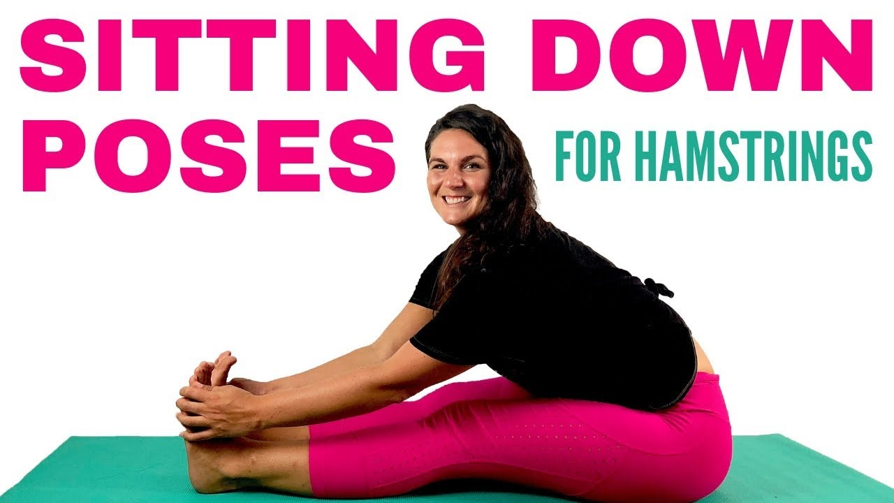 💗My Favorite Yoga Poses Sitting Down 💗- Seated Stretches for Hamstrings   Alana Kane Yoga