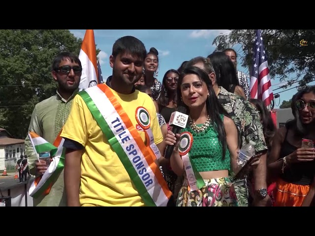 15th Annual IBA India Day Parade Gathers Thousands - Featuring Sonu Sood - Oak Tree Road, NJ