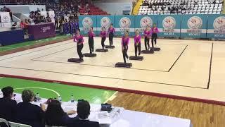 Step Aerobic Türkiye Şampiyonası2017 Kocaeli Türkiye 2.si Yıldızlar (AŞIK VEYSEL ORTAOKULU ANKARA)
