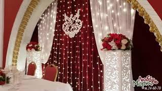 Оформление свадьбы в кафе Камейя, город Йошкар-Ола