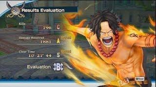 One Piece Pirate Warriors 2: Online Match #4 - Ace Gameplay #1