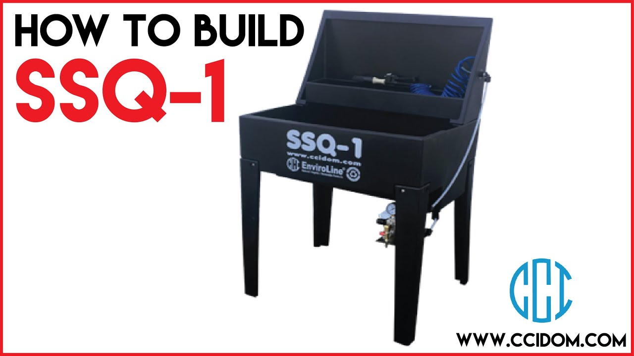 How To Build SSQ-1 Screen & Squeegee Cleaner