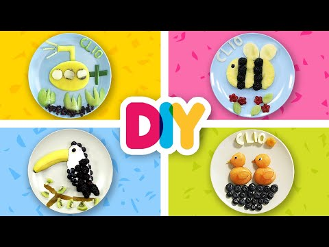4-delicious-fruit-snacks-to-impress-everyone!-|-healthy-n-yummy-|-diy-art-&-crafts-for-parents
