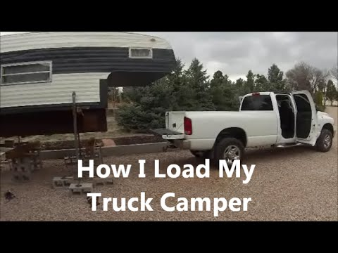How I Load My Truck Camper