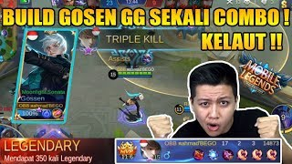 BUILD GG GOSSEN LANGSUNG KILL 17 MAGIC POWER- MOBILE LEGEND BANG BANG